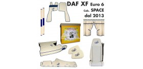 KIT CABINA DAF XF EURO 6 cab. SPACE dal 2013