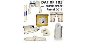 KIT CABINA DAF XF 105 Cab. SUPER SPACE