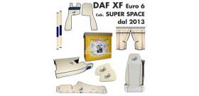 KIT CABINA DAF XF EURO 6 cab. SUPER SPACE dal 2013