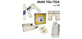 KIT CABINA MAN TGL/TGA cab. LX