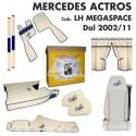 MERCEDES ACTROS cab. LH MEGASPACE