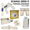 SCANIA SERIE R Cab. TOPLINE/HIGHLINE fino al 2009