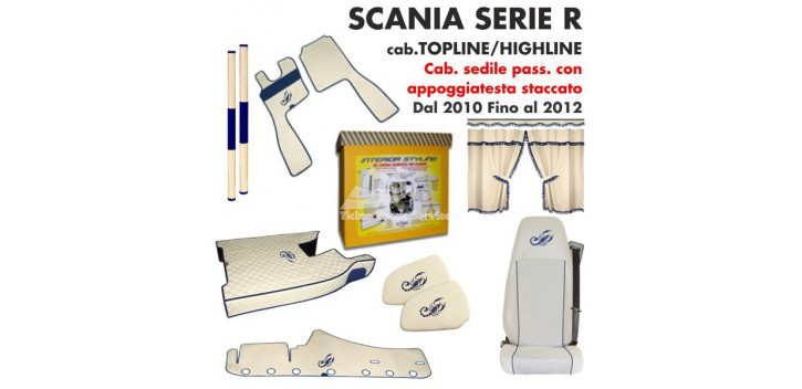 SCANIA SERIE R Cab. TOPLINE/HIGHLINE dal 2010/12