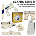 SCANIA SERIE R Cab. TOPLINE/HIGHLINE dal 2010 al 2012