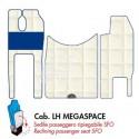 TAPPETINI per MERCEDES ACTROS Cab. LH MEGASPACE