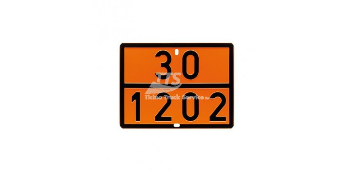 Pannello ADR pericolo 30 1202