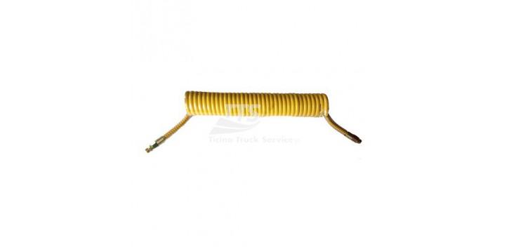 TUBO SPIRALE GIALLO 7.5 METRI M16
