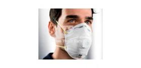 Respiratore Circolare FFP1 NR con Valvola (10 Pezzi)