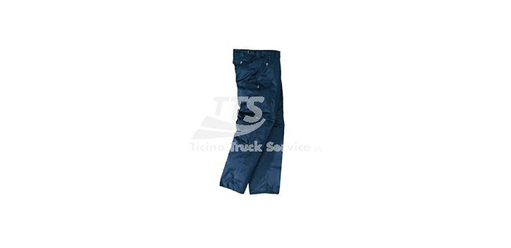 "Pantalone ""REPORTER"" Multitasche Blu"