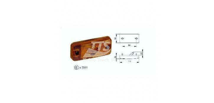 Indicatore laterale luce 12 / 24V