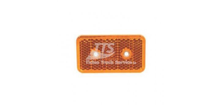 Riflettore giallo L103mm X H58mm