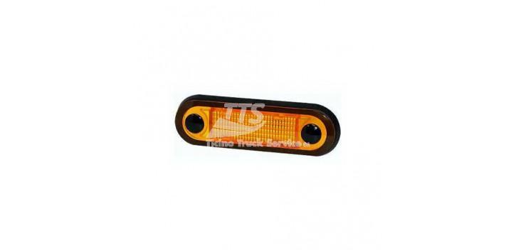 Indicatore HELLA laterale LED 8-28V arancione