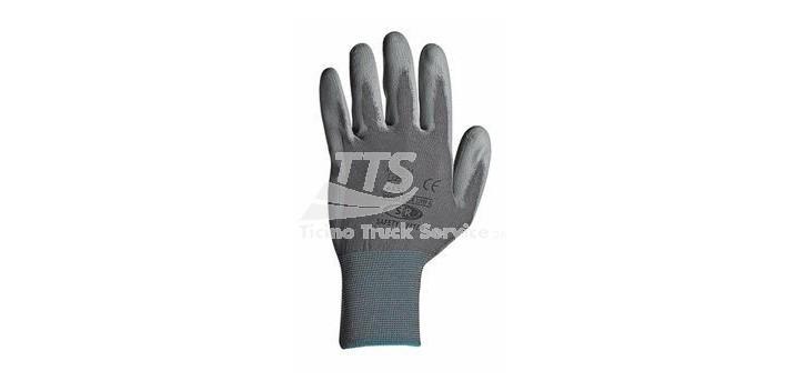 Guanti in maglia di naylon SPANDEX BLACK