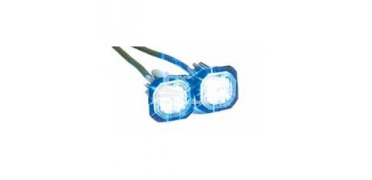 LED luce stroboscopica Button Blast (Set)