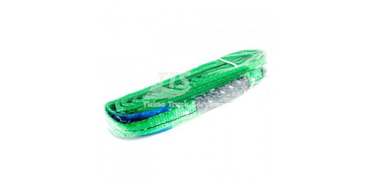 Tiranti ad anelli in poliestere Verde 2 Ton.