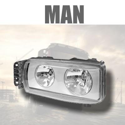 Fanaleria e Illuminazione ANTERIORE MAN