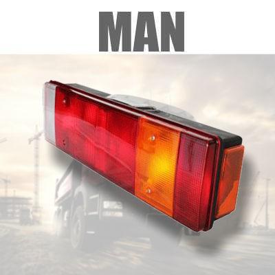 Fanaleria e Illuminazione POSTERIORE MAN