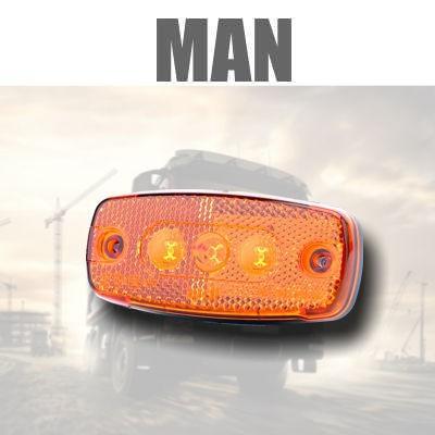 Fanaleria e Illuminazione LATERALE MAN